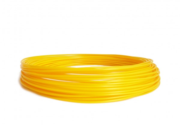 PLA Filament 50g Sample - 2,85mm - Sonnengelb