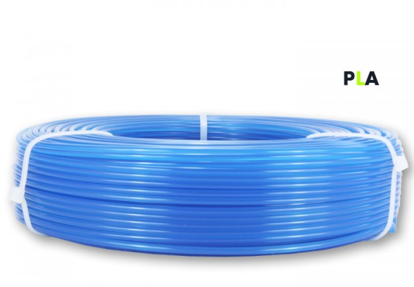 PLA Filament - 2,85 mm - Transluzent-Blau - Refill 850 g