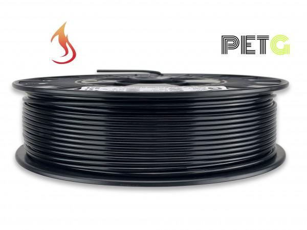 PETG Filament - 2,85 mm - Flammschutz Schwarz