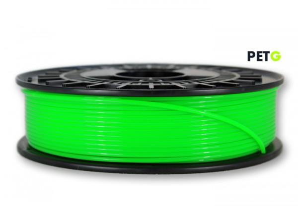 PETG Filament - 2,85 mm - Transluzent Neongrün