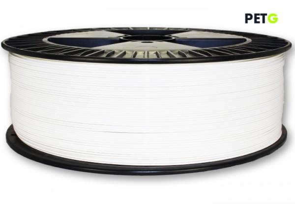 PETG Filament - 1,75 mm - 2600 g - Weiß