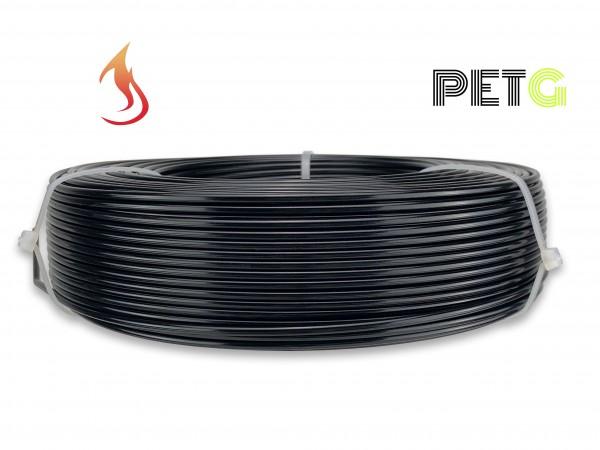 PETG Filament - 2,85 mm - Flammschutz Schwarz - Refill 800 g