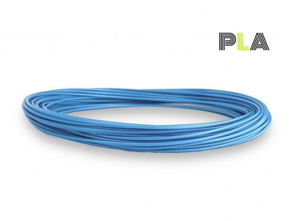 PLA Filament 50 g Sample - 2,85 mm - Toms3D Infinity Blue
