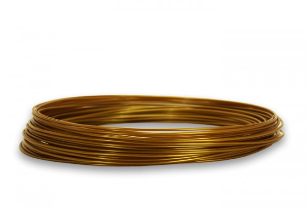 PLA Filament 50g Sample - 2,85mm - Gold