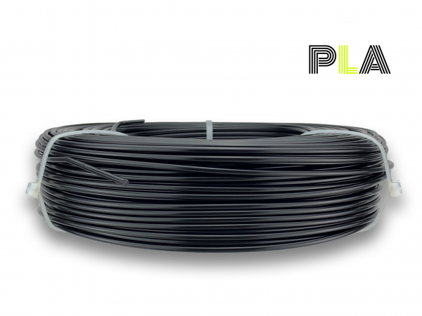 PLA Filament - 2,85 mm - Schwarz matt - Refill 850 g