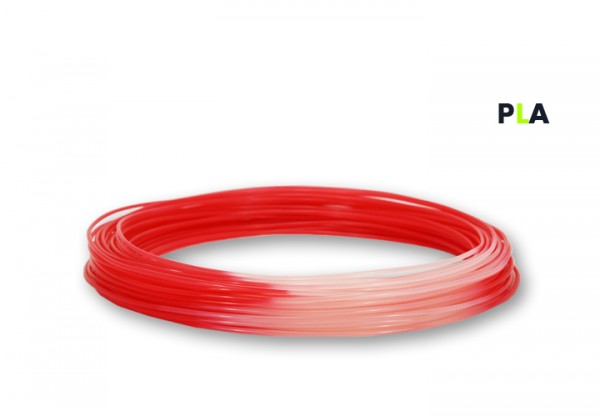 PLA Filament 50 g Sample - 2,85 mm - Thermo-Rot