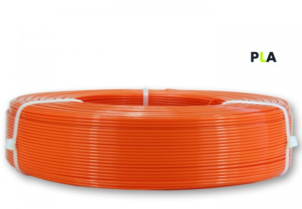 PLA Filament - 1,75 mm - Reinorange - Refill 850 g