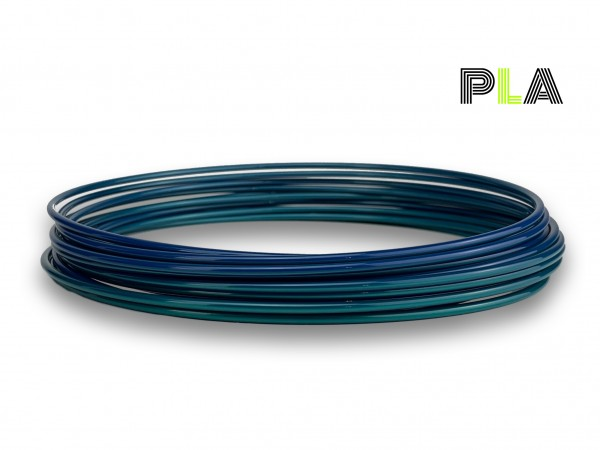 PLA Filament 50 g Sample - 2,85 mm - Multicolor Polarlicht