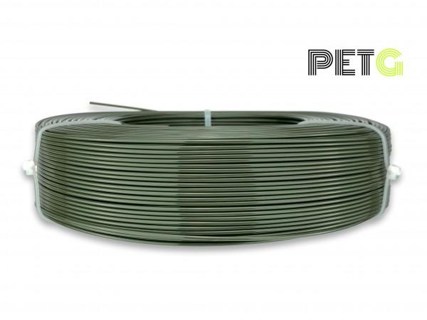 PETG Filament - 1,75 mm - Militär-Grün - Refill 850 g