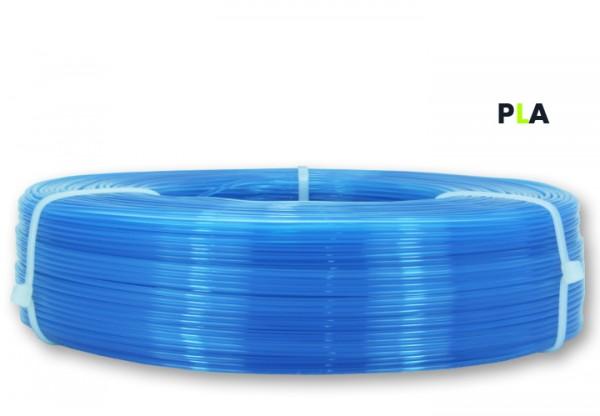 PLA Filament - 1,75 mm - Transluzent-Blau - Refill 850 g