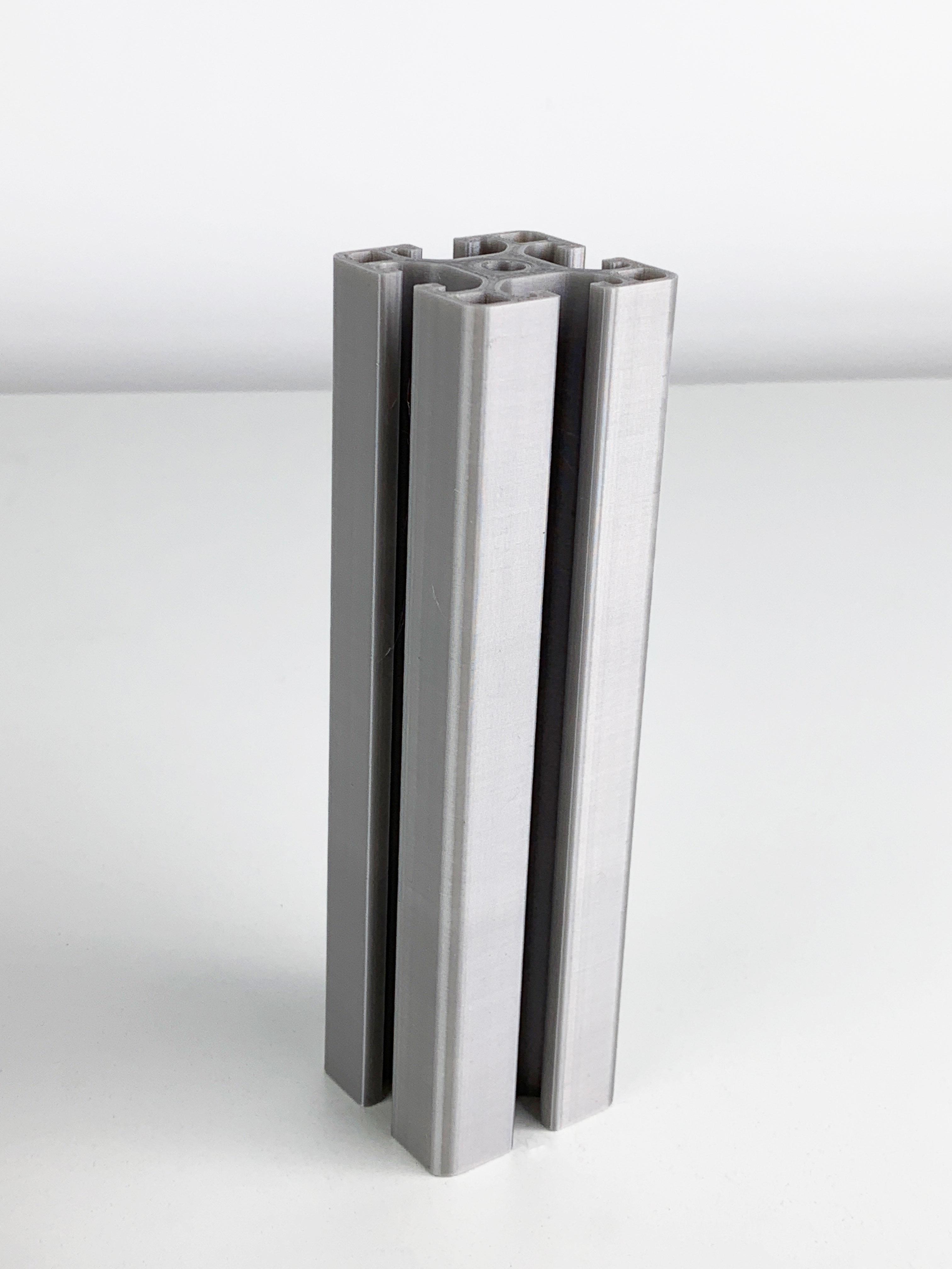 Neue PETG Farbe: Alu-Silber!