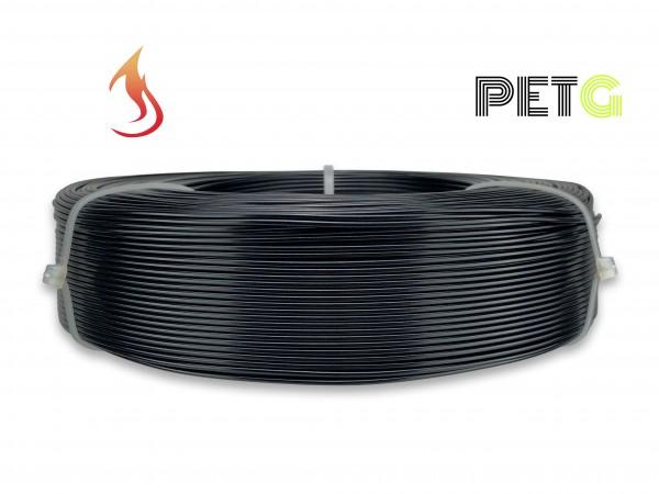 PETG Filament - 1,75 mm - Flammschutz Schwarz - Refill 800 g