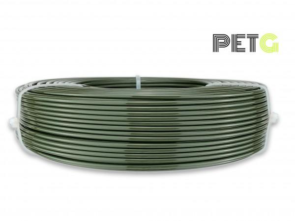 PETG Filament - 2,85 mm - Militär-Grün - Refill 850 g