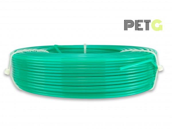 PETG Filament - 2,85 mm - Transluzent Wassergrün - Refill 800 g