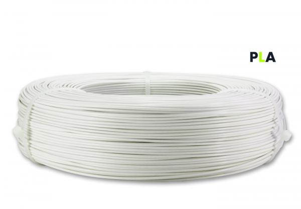 PLA Filament - 1,75 mm - Tonweiß matt - Refill 850 g