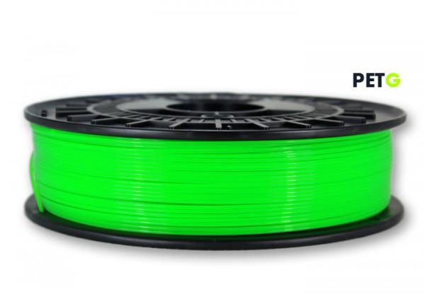 PETG Filament - 1,75 mm - Transluzent Neongrün