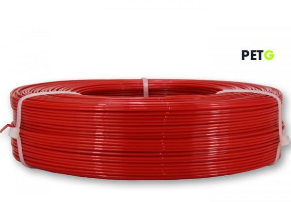 PETG Filament - 1,75 mm - Feuerrot - Refill 850 g