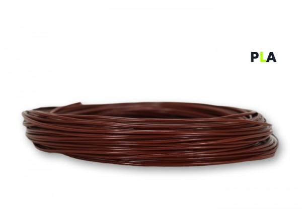 PLA Filament 50 g Sample - 2,85 mm - Kastanienbraun