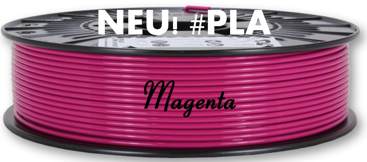 Neuer Farbton: PLA Magenta