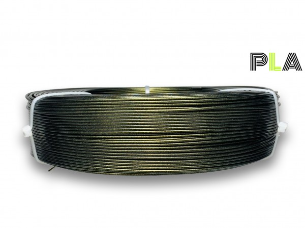 PLA Filament - 1,75 mm - Grüngold - Refill 800 g
