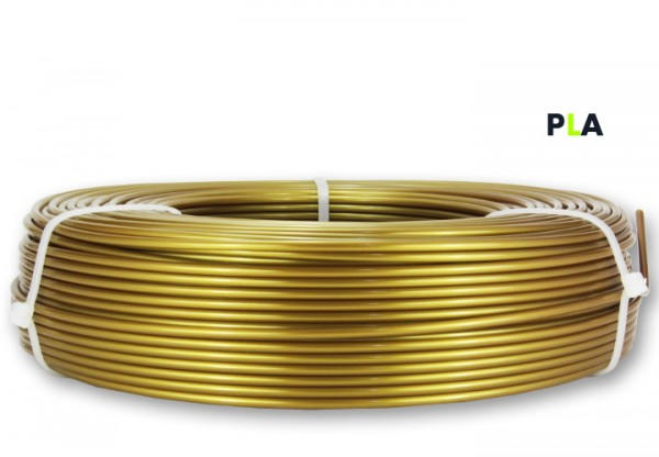 PLA Filament - 2,85 mm - Gold- Refill 850 g