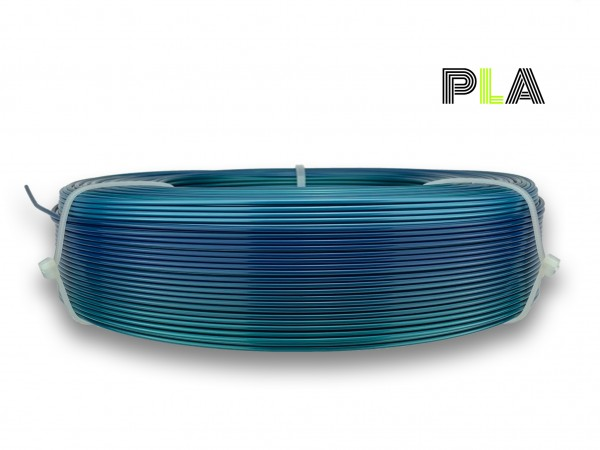 PLA Filament - 1,75 mm - Multicolor Polarlicht - Refill 850 g