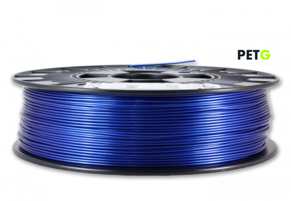 PETG Filament - 1,75 mm - Metallic Blau
