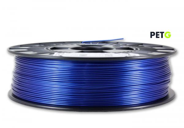 PETG Filament - 1,75 mm - Metallic Blau