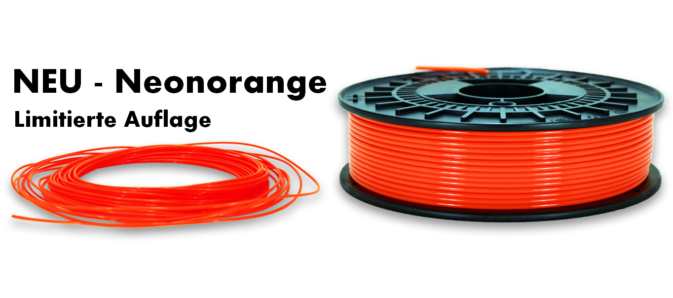 Neu - knalliges Neonorange