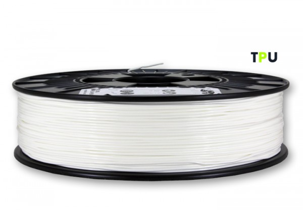TPU Filament (flexibel) - 1,75mm - Weiß