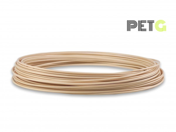 PETG Filament 50 g Sample - 1,75 mm - Beige