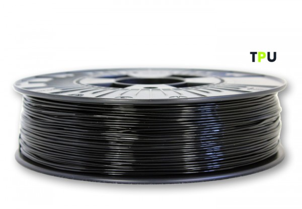 TPU V2 Filament (flexibel) - 1,75 mm - Schwarz