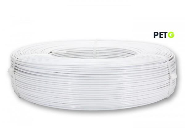 PETG Filament - 1,75 mm - Weiß - Refill 850 g