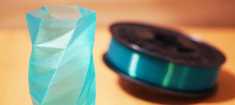 Twisted 6-sided Vase