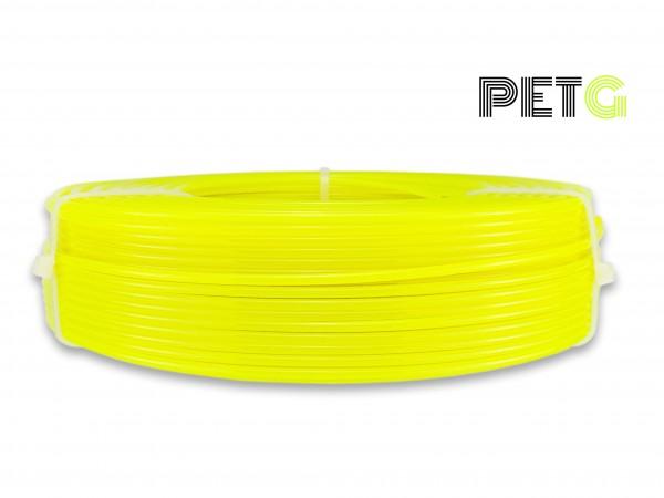 PETG Filament - 2,85 mm - Transluzent Neongelb - Refill 800 g