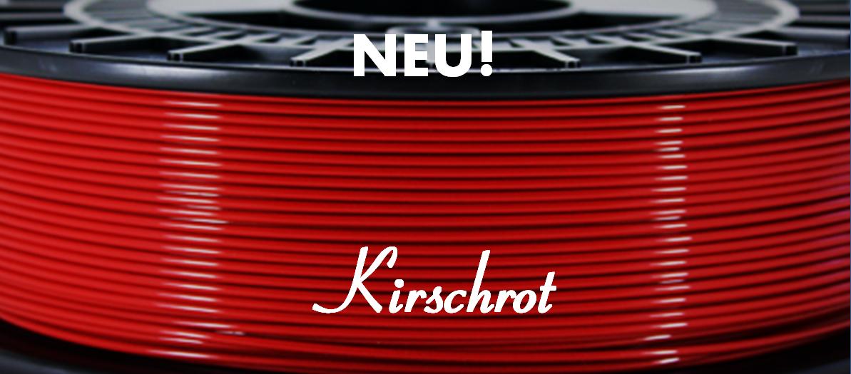 Update: 2,85mm ab sofort verfügbar / Neuer Farbton - Kirschrot