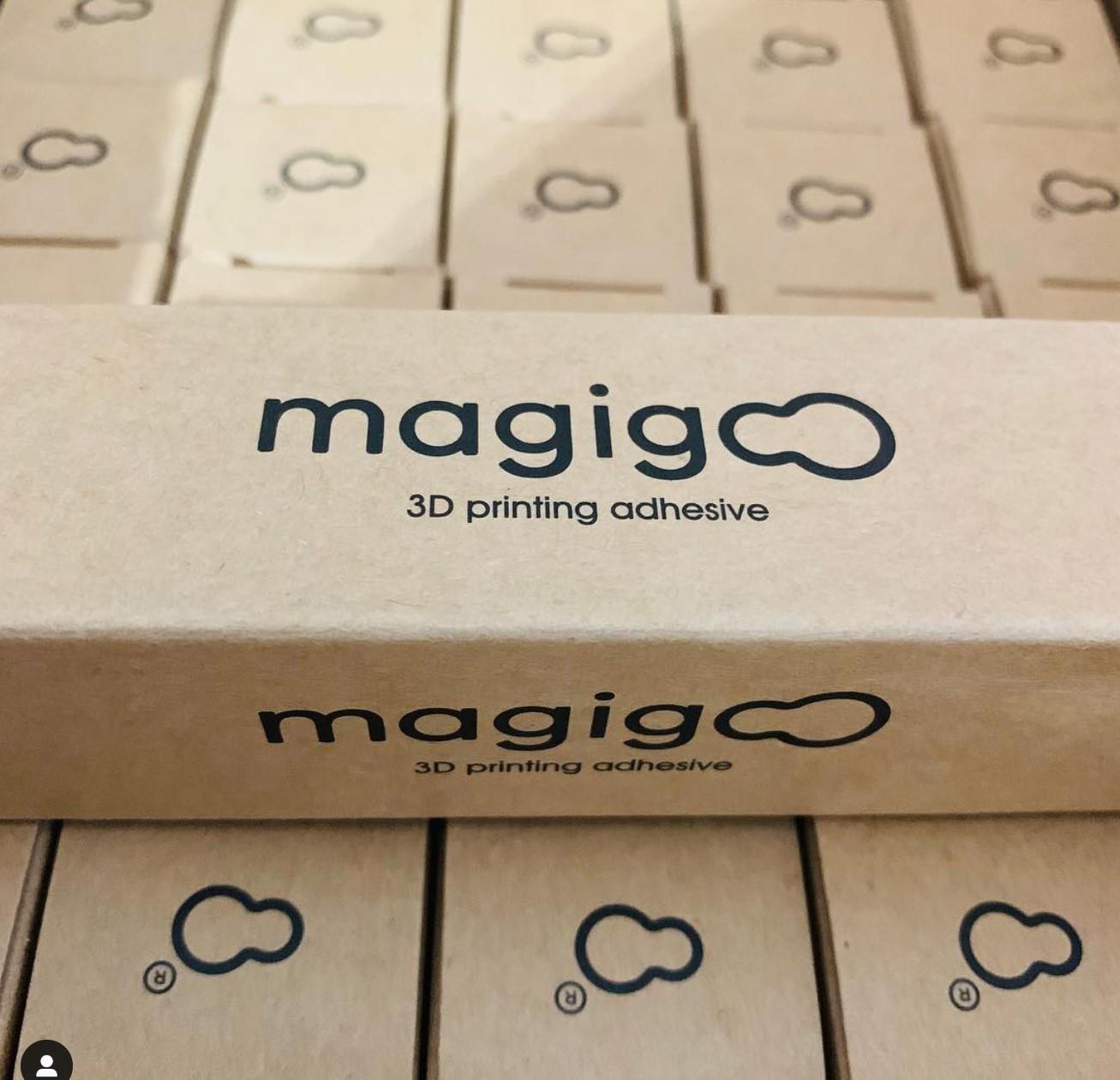 Endlich, die neue Lieferung Magigoo ist angekommen.
