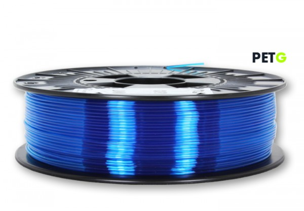 PETG Filament - 1,75 mm - Transparent Blau