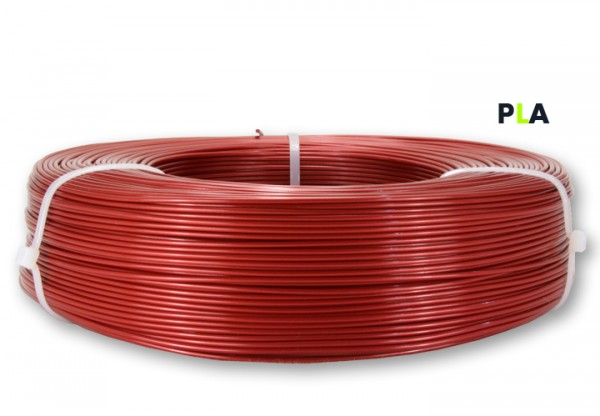PLA Filament - 1,75 mm -Metallic Rot- Refill 800 g