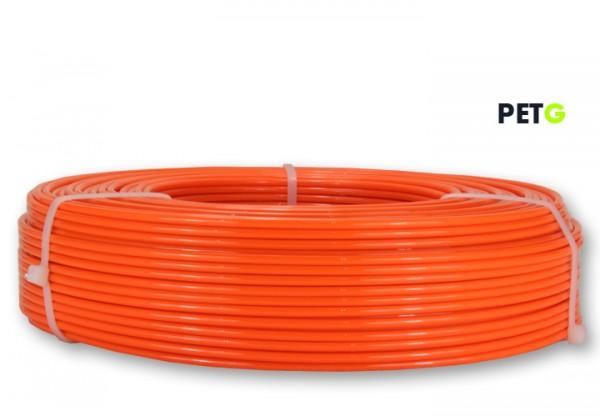 PETG Filament - 2,85 mm - Leuchtorange - Refill 800 g