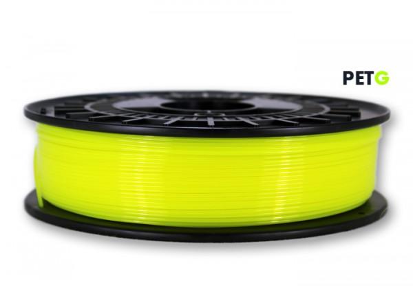 PETG Filament - 1,75 mm - Transl.-Neongelb