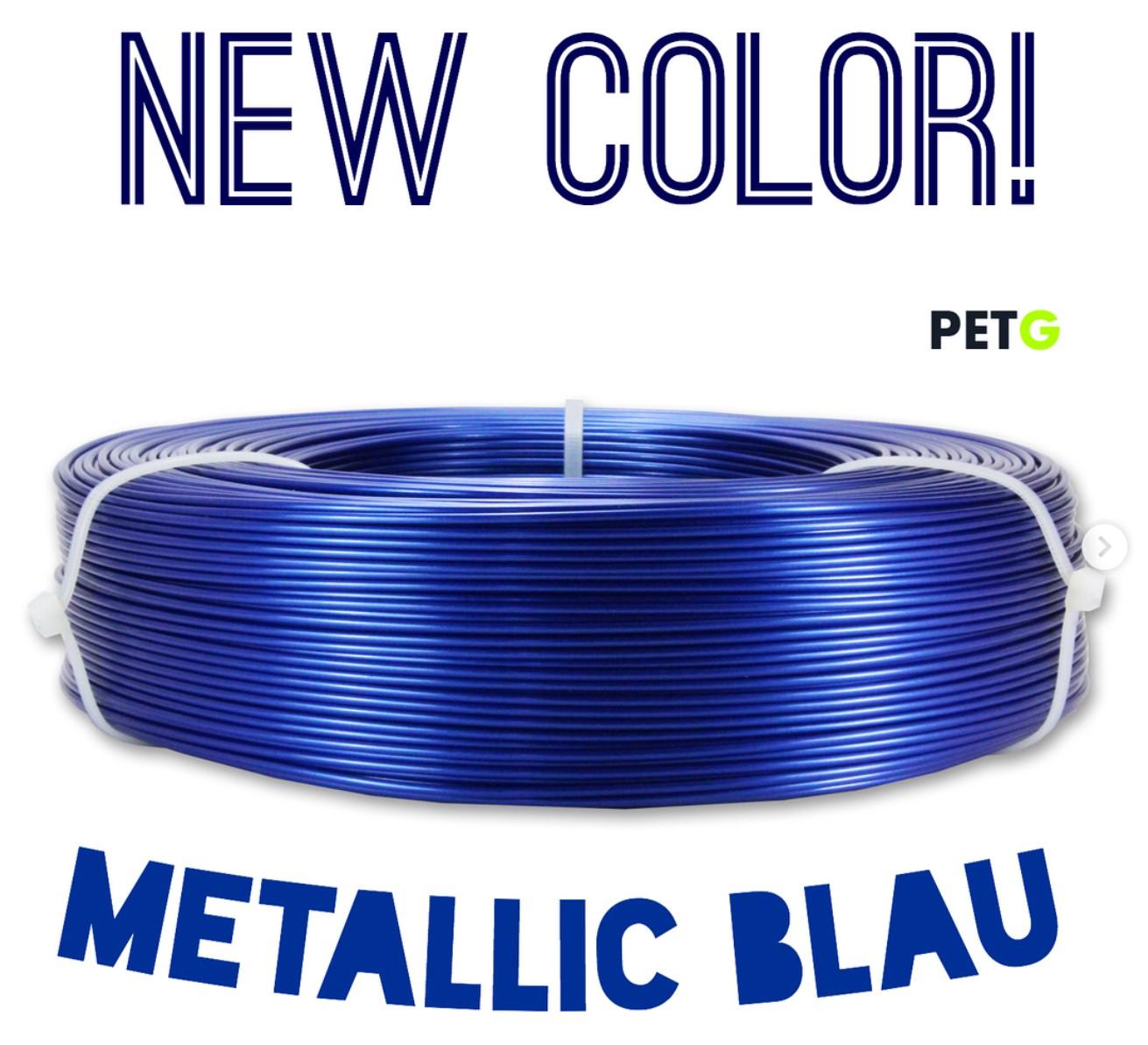 Neue PETG Farbe: Metallic Blau!