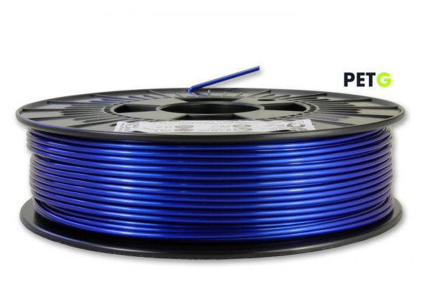 PETG Filament - 2,85 mm - Metallic Blau