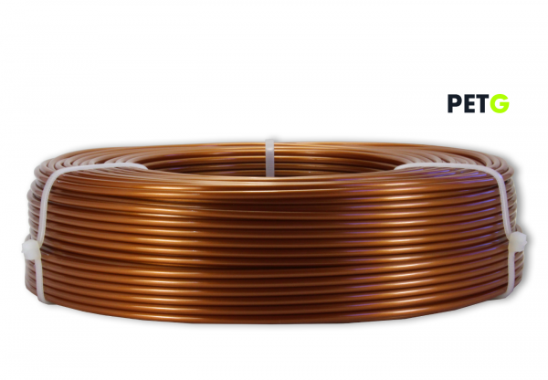 PETG Filament - 2,85 mm - Burnt Copper - Refill 800 g