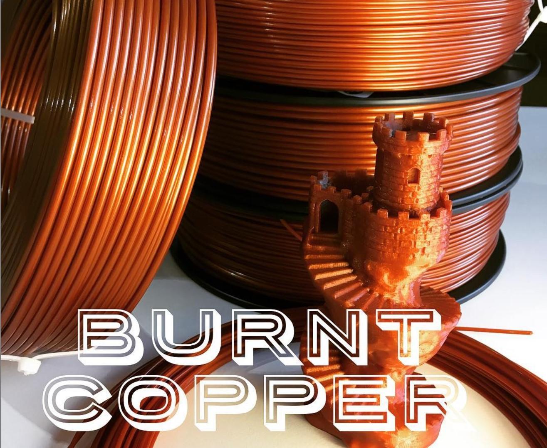 Neue PETG Farbe: Burnt Copper!