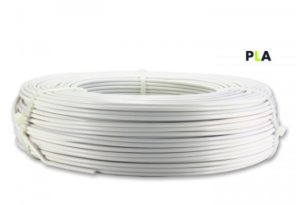PLA Filament - 2,85 mm - Tonweiß matt - Refill 850 g