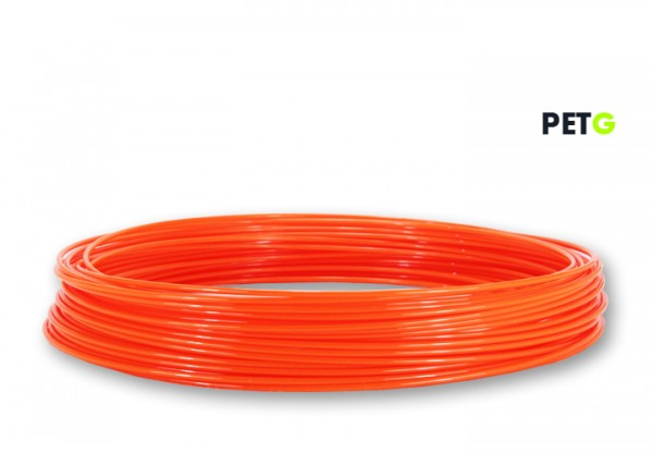PETG Filament 50g Sample - 2,85mm - Leuchtorange