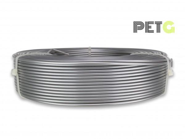 PETG Filament - 2,85 mm - Alu-Silber - Refill 800 g