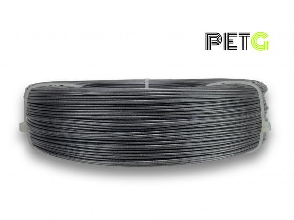 PETG Filament - 1,75 mm - Sturmgrau - Refill 850 g