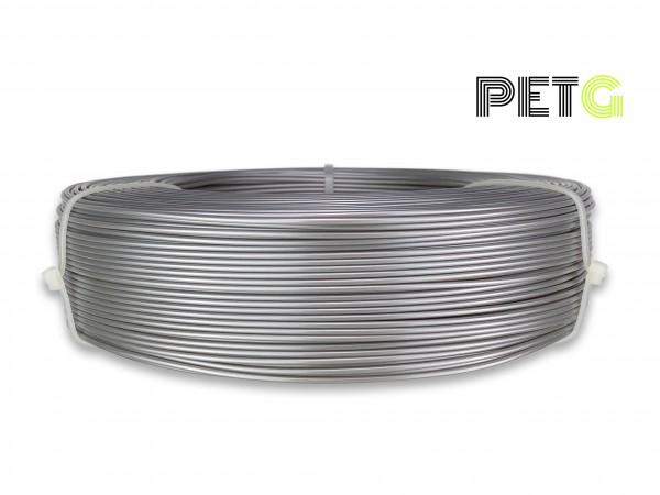 PETG Filament - 1,75 mm - Alu-Silber - Refill 800 g
